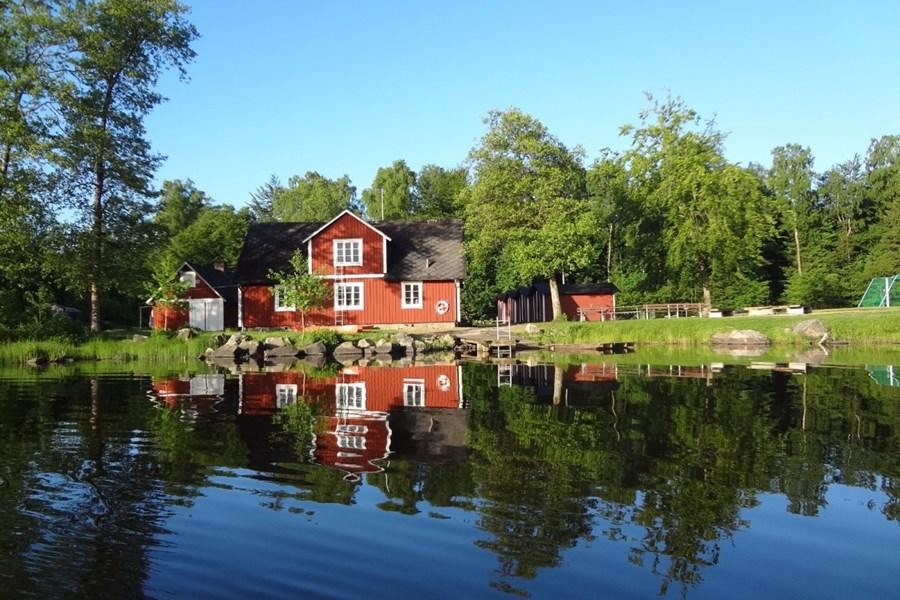 Gruppenhaus Hallaskog in Schweden Horizonte Reisen
